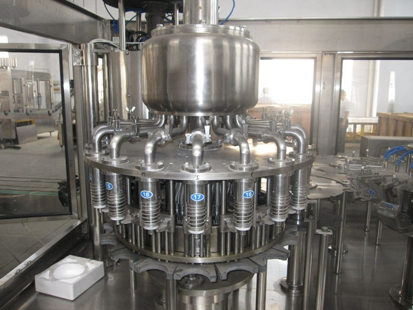 Más allá de Juice Beverage Filling Machine RCGF16-12-6 Modelo